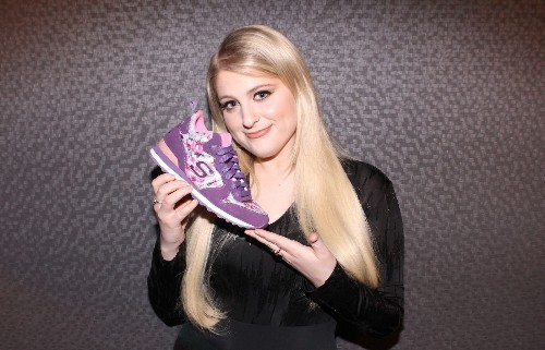 It's all about the shoes: Meghan Trainor teams with Skechers; Converse updates Chucks