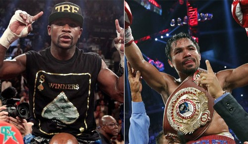 Floyd Mayweather, Manny Pacquiao hope to have right strategies for bout - Los Angeles Times