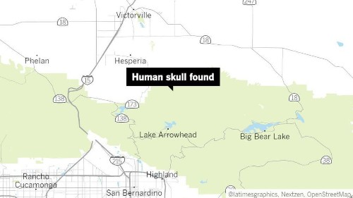 Hikers find human skull in Apple Valley, deputies say