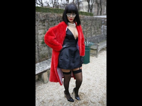 On the red carpet, Rihanna is always one step ahead - Los Angeles Times