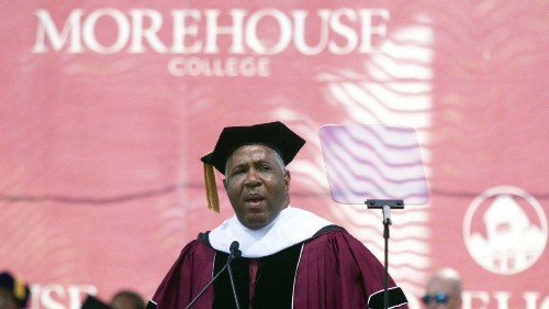 Who's Robert F. Smith, the billionaire paying off Morehouse College students' loans?