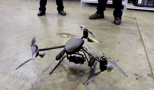 LAPD adds drones to arsenal, says they'll be used sparingly - Los Angeles Times