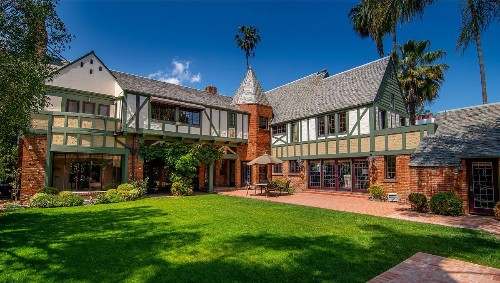 Grand Tudor once home to Francis Ford Coppola, Ariana Grande lists in Hancock Park