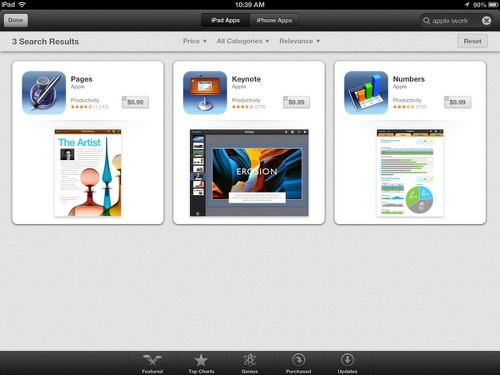 Apple to make iWork apps free with purchase of new devices - Los Angeles Times