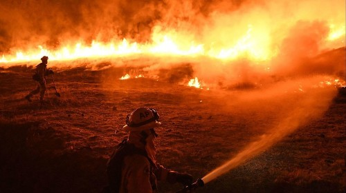 Attempt to plug a wasp nest sparked the biggest wildfire in California history
