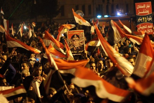 Clashes mark 3rd anniversary of Egyptian revolution; at least 29 dead