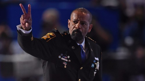 A controversial black sheriff clashes with the city's white police chief in Milwaukee