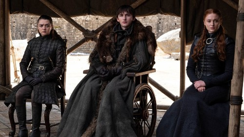 Review: `Game of Thrones' ends more with an exhale than a bang
