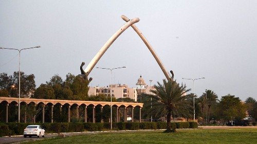 Rocket explodes near U.S. Embassy in Baghdad