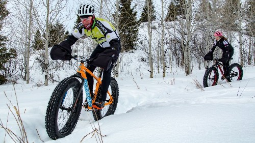Winter in Wyoming is perfect time to jump on a fat-tire bike and hit the snow - Los Angeles Times