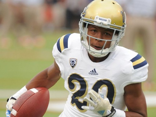 As a football player, Justin Combs has been shadowed by his last name