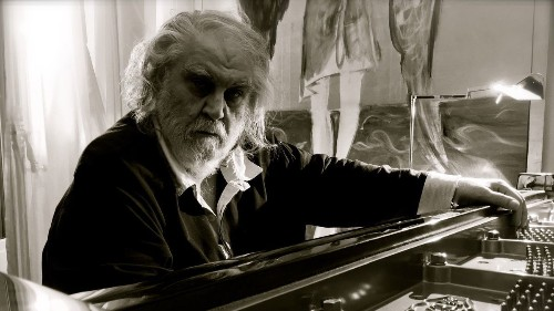 Vangelis trades synthesizers for piano and finds life after the film score