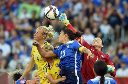 U.S. women's soccer team still has a long way to go on equality scale - Los Angeles Times
