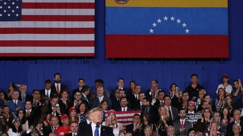 Trump says 'no going back' in attempts to oust Venezuela's Maduro