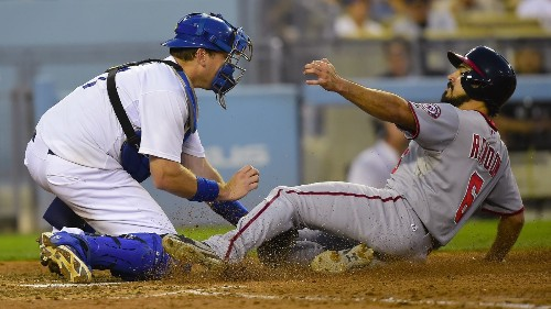 Dodgers can't keep up with Nationals in 6-4 loss - Los Angeles Times