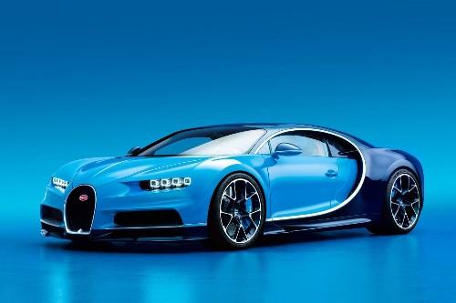 Bugatti unveils Chiron -- the world's fastest production car