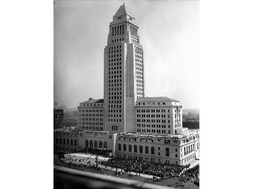 From the Archives: 1928 dedication of Los Angeles City Hall