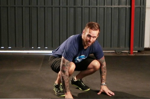 Celebrity fitness trainer Bob Harper says the burpee 'does it all'