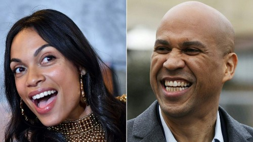 Cory Booker and Rosario Dawson should have a White House wedding, says Ellen DeGeneres