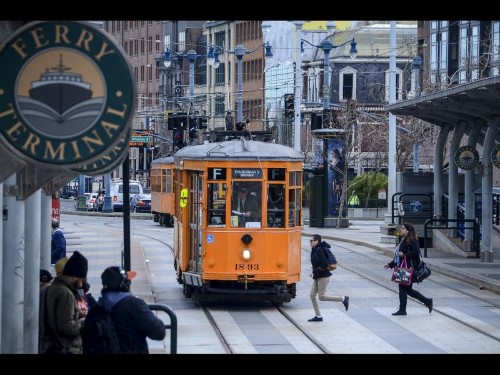 In San Francisco, you simply don't need a car on Market Street and the waterfront. In fact, you'll be happier without one