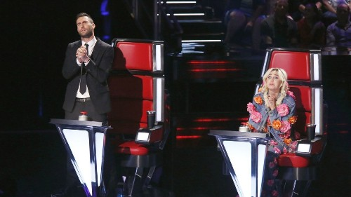 Adam Levine quits 'The Voice' but can't hide his love for Blake Shelton