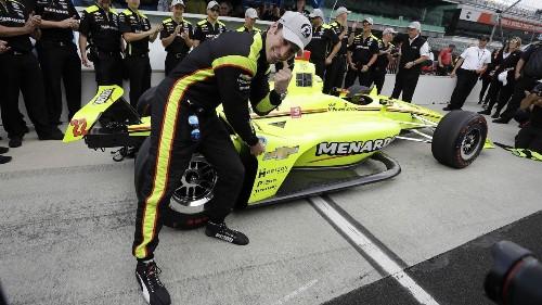 Simon Pagenaud wins Indy 500 pole