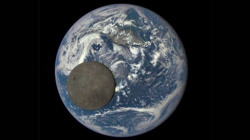 The far side of the moon sails across Earth in new NASA video