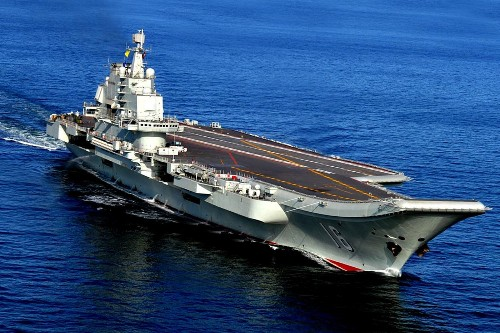 China is building a second aircraft carrier in a bid to project power - Los Angeles Times