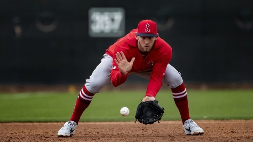 Taylor Ward making strides in his quest to win a third base job with Angels