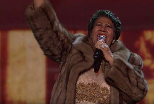Here's Aretha Franklin blowing people's minds at the Kennedy Center Honors