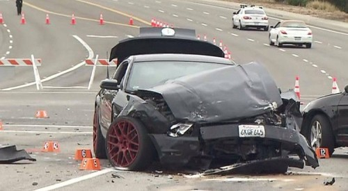 'He's not stopping': Witnesses testify in Costa Mesa man's murder trial that Mustang sped into intersection wi