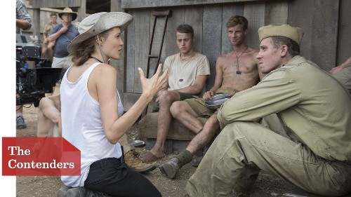 Angelina Jolie relies on 'sweat equity' in making 'Unbroken'