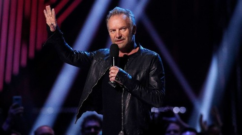 Sting plans a 16-show Las Vegas residency next year: 'I'll be telling the story of my life through songs'