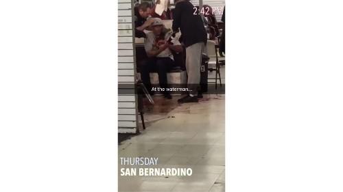Shooting at San Bernardino mall leaves one man injured, another in custody