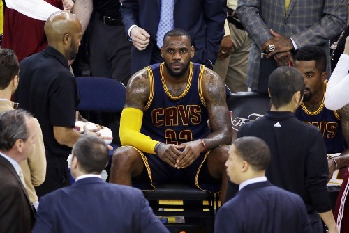 Cavaliers feel the pressure as time is running out in NBA Finals
