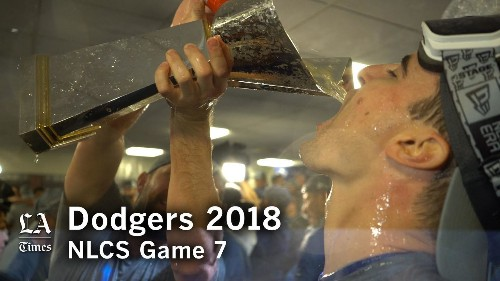 Dodgers advance to World Series with 5-1 victory over Brewers in Game 7 of NLCS - Los Angeles Times