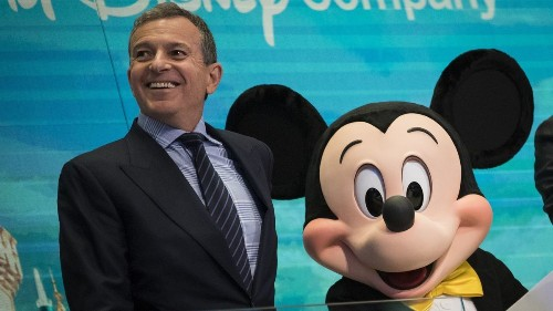 One word explains the $65-million pay package for Disney's CEO: greed