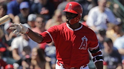 Angels' Justin Upton not sure when he'll return from sprained toe