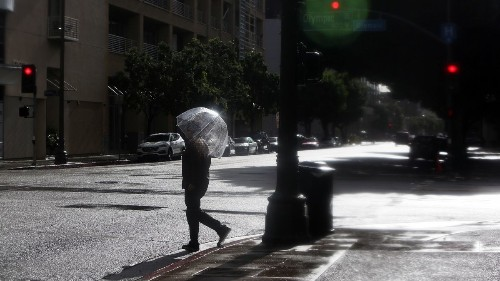 Next storm may bring hail to Southern California
