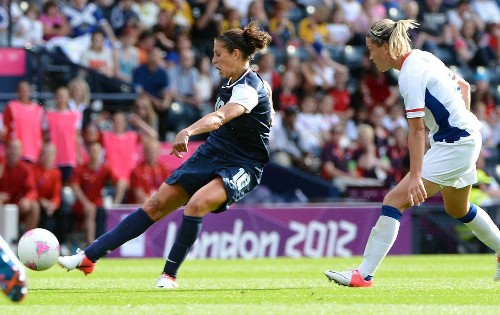 U.S. soccer's Carli Lloyd has high hopes for Women's World Cup