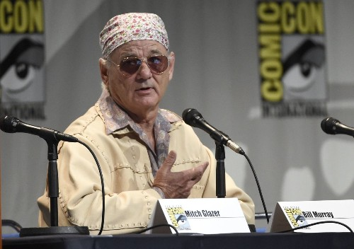 Bill Murray, after bagels and tequila, defends Miley Cyrus, in first-ever Comic-Con appearance - Los Angeles Times