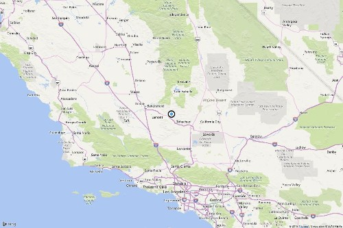 Earthquake: 3.4 quake strikes near Tehachapi, Calif.