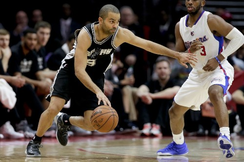 Spurs' Tony Parker left Game 2 with tightness in right Achilles - Los Angeles Times