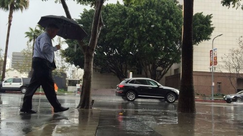 Drenched: How L.A. went from bone-dry to 216% of normal rainfall in four months