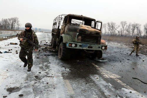 Ukraine fighting intensifies after talks fail to reach truce accord