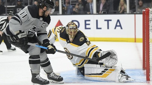 Matt Roy makes big call but Kings can't answer bell in 4-2 loss to Bruins