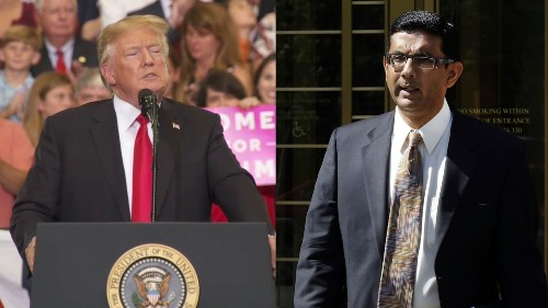 Trump pardons Dinesh D'Souza, says he may do same for Martha Stewart and cut sentence of ex-Illinois Gov. Blagojevich