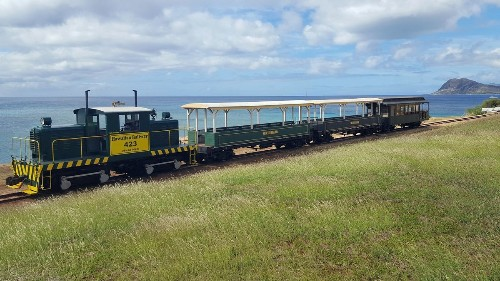 Trains in Hawaii? Hop aboard for short trips on scenic routes