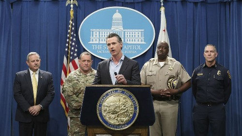 Gavin Newsom pushes for new ties with Mexico as Trump fights to build wall