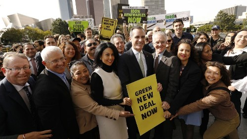 Garcetti pulls back on promise of 'zero bad air' in L.A. by 2025